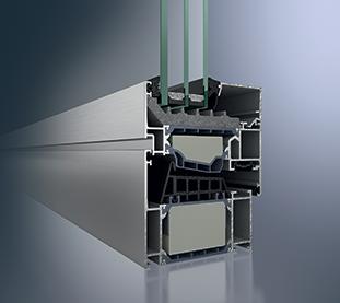 infissi a Taglio Termico Mix di Alluminio Materiale in Poliammide Schiume Isolanti e Vetri Doppia Camera