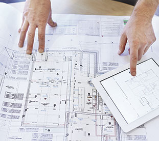 pianta in 2d si un progetto in cui ufficio tecnico aluser ha fornito finestre in alluminio