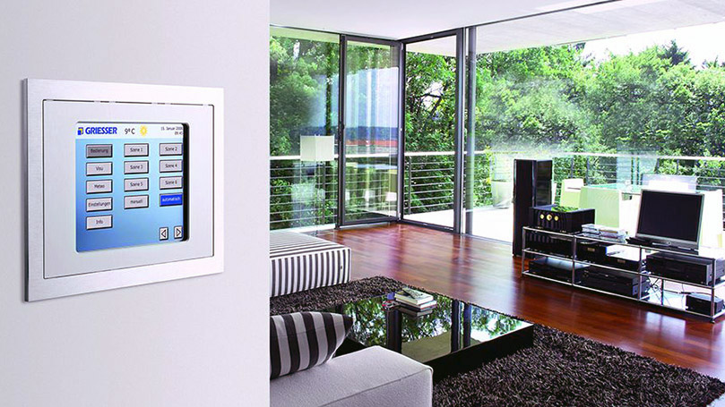 Integrated Electric Shutters with Home Automation System for Modern and Technological Residences and Buildings