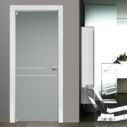 Porte Interne in Vetro Satinato per Residenze e Uffici dal Design Moderno