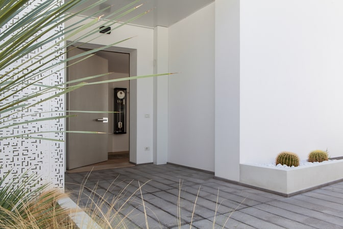 Maximum security front doors for a modern home design