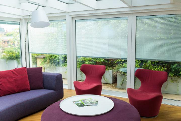 veranda taglio termico della collezione di schuco verande e progettata e installata da Aluser Milano