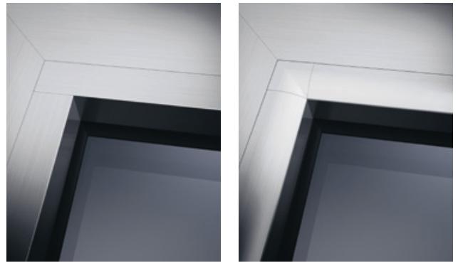 modelli fermavetro per serramenti in alluminio schuco