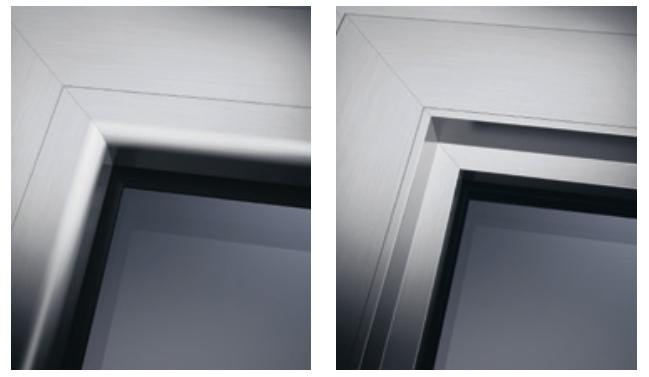 tipologie di fermavetri per infissi in alluminio