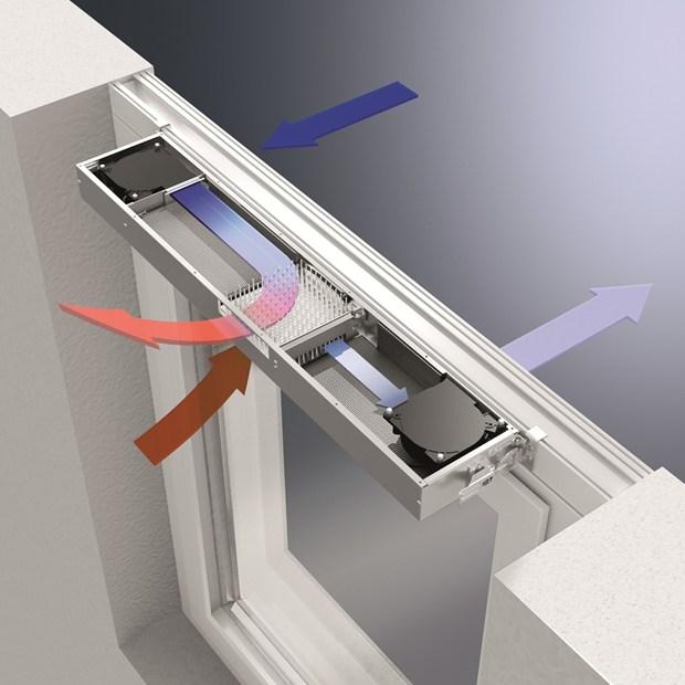 serramenti schuco con sistema di ventilazione ventotherm