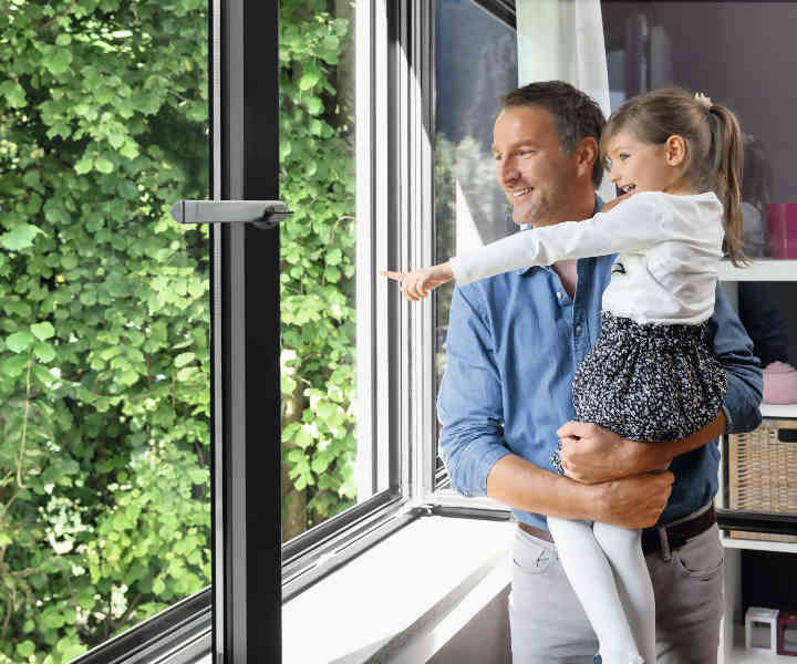 schuco aluminium windows and doors with high thermal performance for optimal living comfort