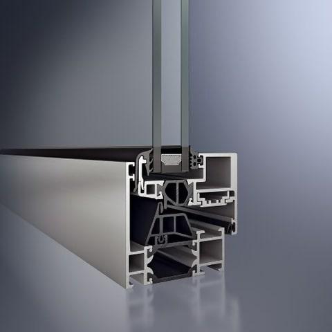 schuco aluminium profiles aws 65 bs hi