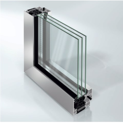 schuco aluminium profiles aws 75 bs hi ultra-compact design