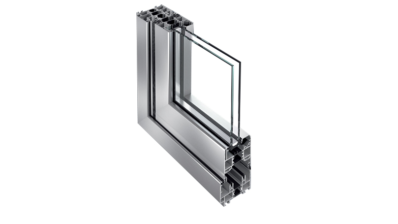 profile of quality aluminium windows and doors and frames