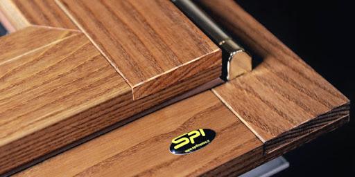 spi serramenti in alluminio tinta legno
