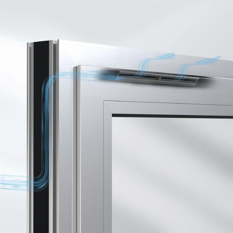 sistema ventoair per finestre schuco per una ventilazione automatica degli ambienti interni