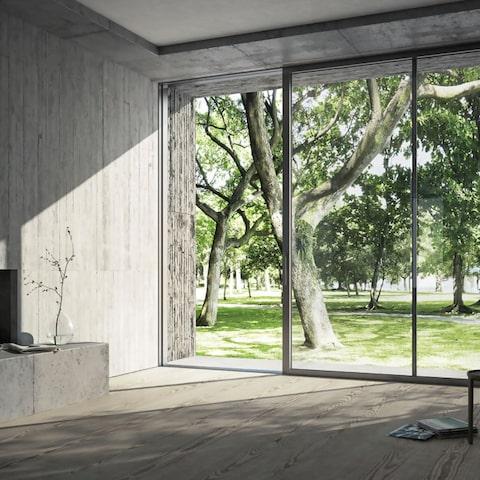 vetrate schuco sistema ase 60 scorrevole in alluminio