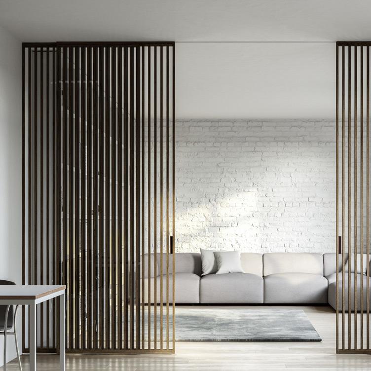 Porte Interne di Design con Aluser Design