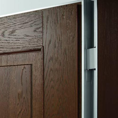 Dettaglio Cerniera Nascosta per Porte Interne di Design con Aluser Design