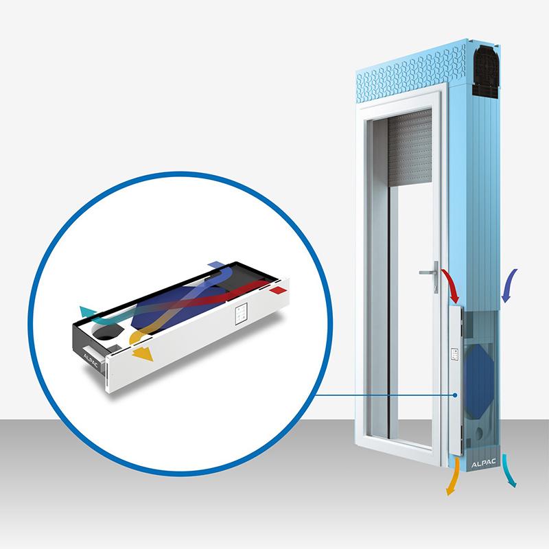 Con Aluser Milano, Ventilazione Meccanica Controllata integrata nei Serramenti e Sostenibilità Ambientale per la vostra Casa Passiva